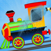 火车引擎清洗 蹒...