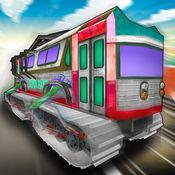 火车trx赛车 - 乐趣火车公共汽车赛车为孩子们 1