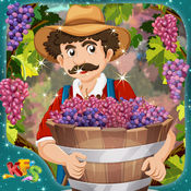 葡萄种植业 - 疯狂的小农户的农场游戏中的故事为孩子们 1