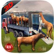 运输卡车:农场动物和牲畜那么 1