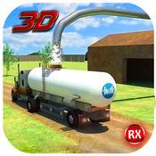 运输卡车:牛奶供应 1