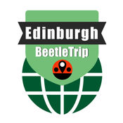 爱丁堡旅游指南地铁甲虫英国离线地图 Edinburgh travel guide and offline city map, BeetleTrip Scotland tube metro train