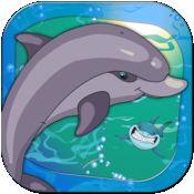 上瘾的野生海豚赛 - 鲨鱼躲避疯狂 1