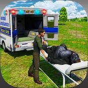 非洲动物救援911急救:越野运输车司机模拟器 1