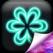 霓虹花壁纸免费 – 彤彤背景图片和锁屏主题 1