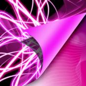 霓虹粉色壁纸 1