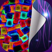 霓虹灯壁纸免费 – 泛着高清背景与荧光灯的主题 1