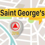 Saint George's 离线地图导航和指南 1