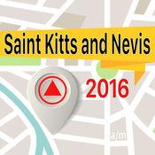 圣基茨和尼维斯 离线地图导航和指南 1