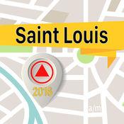 圣路易斯 离线地图导航和指南 1