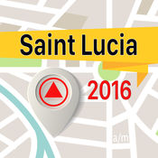 圣卢西亚 离线地图导航和指南 1