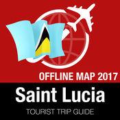 圣卢西亚 旅游指南+离线地图 1.8