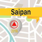 塞班岛 离线地图导航和指南 1