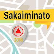 Sakaiminato 离线地图导航和指南 1