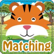 动物匹配的游戏记忆为孩子 1