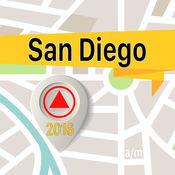聖地牙哥 离线地图导航和指南 1