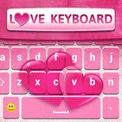 键盘 爱 主题可爱的皮肤背景变化 1