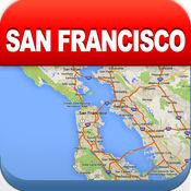 旧金山离线地图 - 城市 地铁 机场 4.3