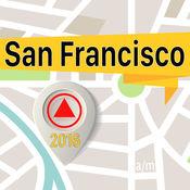 旧金山 离线地图导航和指南 1