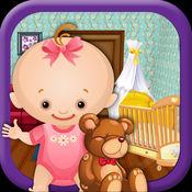 刚出生的婴儿室设备 - 妈妈和新生宝宝护理游戏的孩子