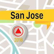 聖荷西 离线地图导航和指南 1