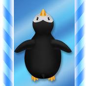 笨拙的企鹅本垒...