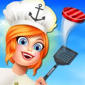 邮轮烹饪餐厅超...