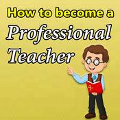 如何成为一名专业教师 1.2