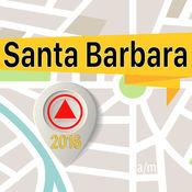 圣巴巴拉 离线地图导航和指南 1