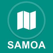 萨摩亚 : 离线GPS导航 1