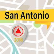 圣安东尼奥 离线地图导航和指南 1
