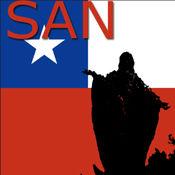 Santiago de 智利地图 9