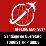 Santiago de Queretaro 旅游指南+离线地图 1