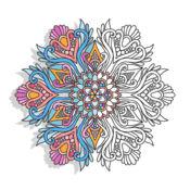 曼荼罗着色书成人色彩平静疗法 1.1