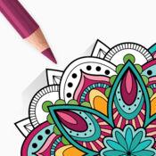 曼陀罗绘画 - 成人著色本 1.6
