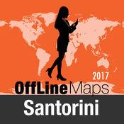 圣托里尼 离线地图和旅行指南 2