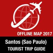 Santos (Sao Paulo) 旅游指南+离线地图 1