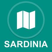 撒丁岛,意大利 : 离线GPS导航 1