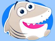 尼斯鲨鱼! 好Kitty猫和企鹅太! 表情符号 1