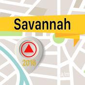 薩凡納 离线地图导航和指南 1