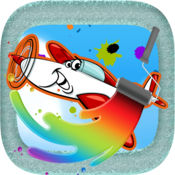 Aircraft Coloring Book : 如何學 寫作 圖像 画画涂色 嬰