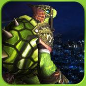 超级乌龟战士战斗3D 1
