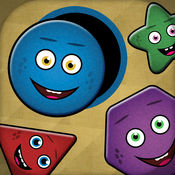 形状游戏 SE - 孩子们的形状和颜色 1