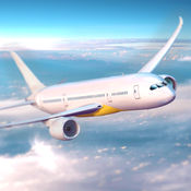 飞机飞行模拟器真实喷气机飞行赛3D Simluation 1