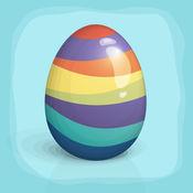 复活节降 - 鸡蛋跌倒! 1