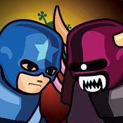 超级城堡防御. 英雄战争游戏 防御堡垒从敌人 家族故事为孩