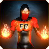 超级英雄火焰火焰 - 作为具有极限超级大国的复仇者英雄,拯