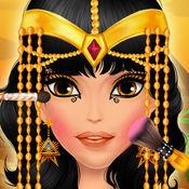 埃及公主化妆及...
