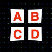 Alphabet Glue - 字母胶 - 在黑板上的链接类似字母 2