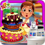 超市蛋糕制造商 - 乐趣烹饪游戏躁狂症 1